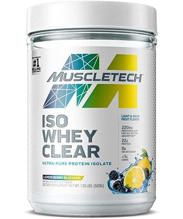 MuscleTech Clear Whey Protein Isolate