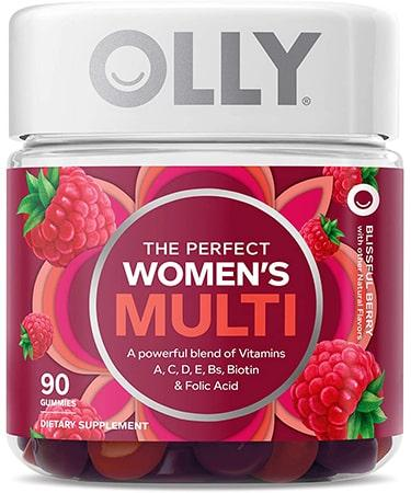 OLLY The Perfect Womens Gummy Multivitamin - 90 Gummies